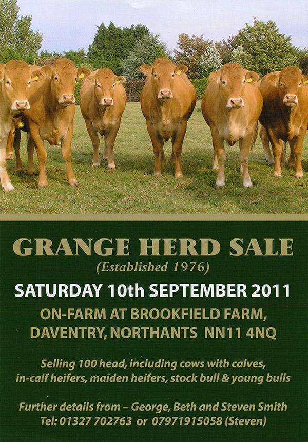 Grange sale flyer